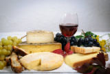 Renaud Philippe - Different Savoie cheeses with a glass of red wine