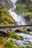 Lukasz Janyst - The famous laatefossen in odda,one of the biggest waterfalls in norway