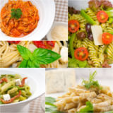 Francesco Perre - Collection of different type of Italian pasta collage
