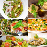 Francesco Perre - Healthy and tasty Italian food collage