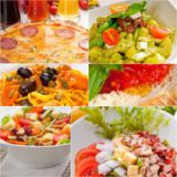Francesco Perre - Healthy Vegetarian vegan food collage