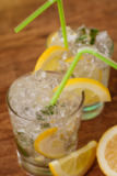 Ruslan Grigoriev - Lemonade with fresh lemon and mint by lemon reamer
