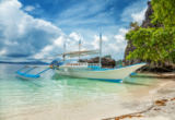 Tomas Anderson - Traditional boat used for island hopping in El Nido, Philippines