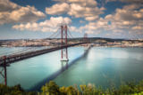 Lukasz Janyst - The 25 de abril bridge is a bridge connecting the city of lisbon to the municipality of almada on the left bank of the river tej