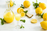 Volodymyr Melnyk - Italian traditional liqueur limoncello with lemon