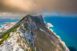 Lukasz Janyst - View of the gibraltar rock from the upper rock