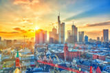 Sergey Borisov - Frankfurt at sunset, Germany