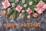 Tomas Anderson - Christmas decoration background with copy space