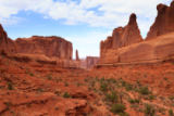 davide guidolin - Panorama from Arches National Park, Utah. USA