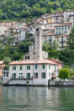 Harald Biebel - The picturesque village careno on lake como,northern italy