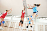 Benis Arapovic - Girls playing volleyball indoor game